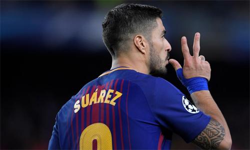Suarez có đóng góp chỉ bằng một nửa so với Messi.
