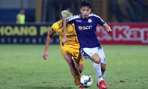 Hà Nội vẫn chưa thể phá được dớp không thắng tại Khánh Hòa.
