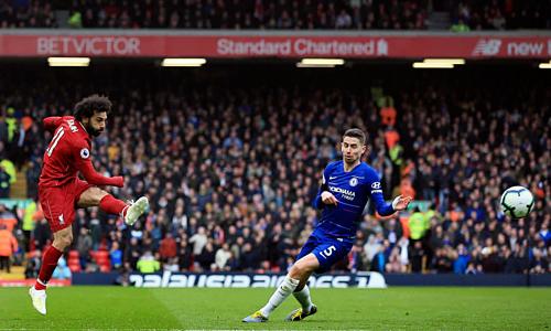 Salah chứng tỏ phẩm chất ngôi sao với bàn thắng ở trận cầu quyết định. Ảnh: Reuters.