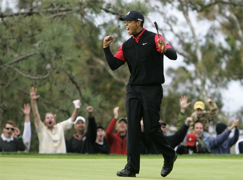 Woods là thần tượng của hầu hết người hâm mộ golf thế giới. Ảnh: AP.