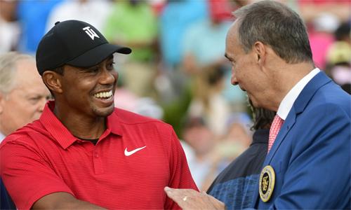 Woods đã 81 lần vô địch PGA Tour, chỉ kém Sam Snead (82 lần). Ảnh: AP.