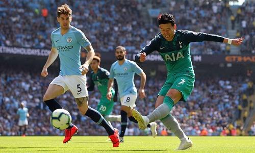 Man City rửa hận Tottenham khi trở lại Ngoại hạng Anh - ảnh 3