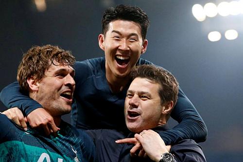 Tottenham cũng phải trở lại mặt đất. Ảnh: Reuters.
