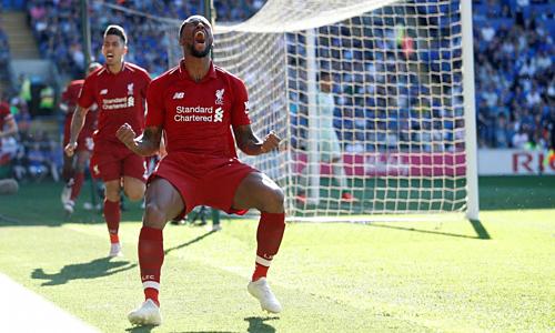 Liverpool đã đạt 52 trong 54 điểm tối đa khi đối đầu các đội ở nửa sau bảng điểm Ngoại hạng Anh mùa này. Ảnh: Reuters.