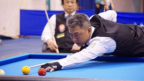 Minh Cẩm khởi đầu mỹ mãn ở giải Carom châu Á 2019. Ảnh: VnZoom.
