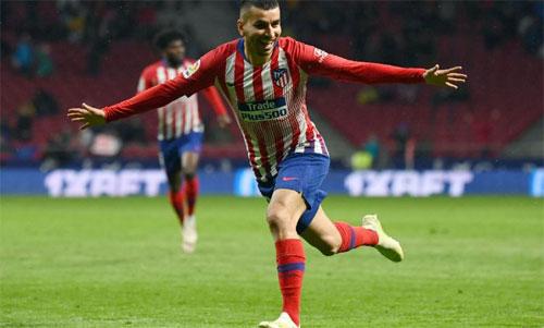 Barca chỉ vô địch sớm bốn vòng nếu Atletico thua Valencia. Ảnh: Reuters