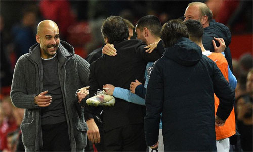 Man City phải rời Champions League, nhưng vẫn là một thế lực lớn ở Ngoại hạng Anh. Ảnh: Reuters