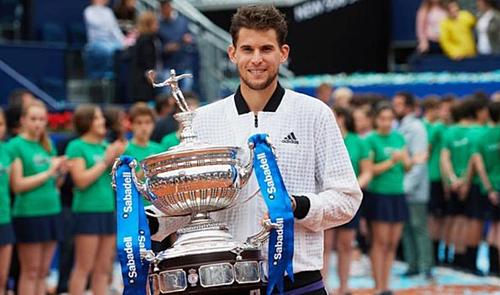 Thiem là tay vợt Áo đầu tiên vô địch Barcelona Mở rộng kể từ năm 1996.