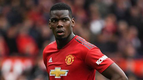 Pogba đang có tin đồn sẽ rời Man Utd trong hè 2019. Ảnh:AFP.