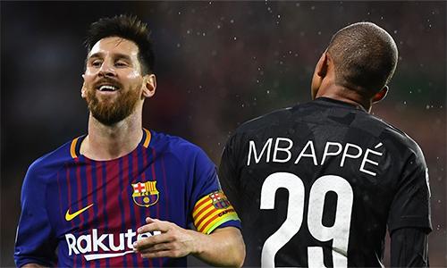 Án phạt gần như kết liễu hy vọng của Mbappe trên đường đua tranh Giày Vàng với Messi.