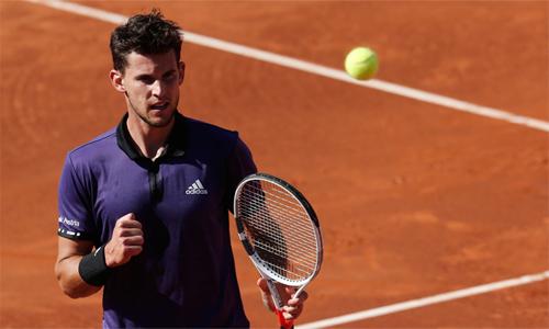 Thiem vô địch tại Barcelona tuần qua, và đang đi tiếp trên con đường chinh phục Grand Slam. Ảnh: Reuters.