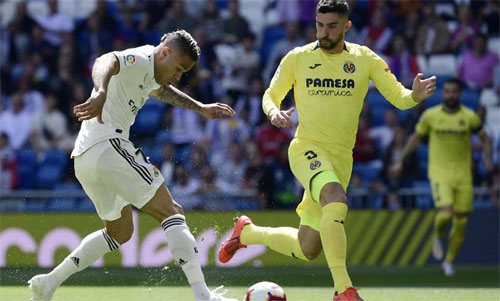 Villarreal sa sút vì hàng thủ.