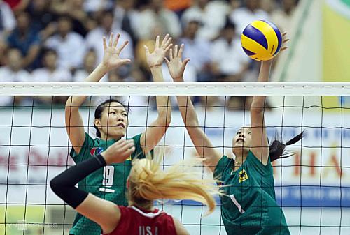 Giải bóng chuyền nữ quốc tế VTV9 – Bình Điền luôn quy tụ nhiều đội bóng hàng đầu tham dự. Ảnh: Đức Đồng.