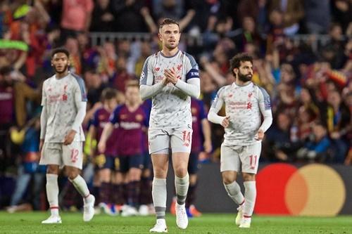Liverpool phải trông chờ vào phép màu để ngược dòng trước Barca. Ảnh: EPA.