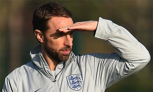 HLV Southgate chỉ có thể chuẩn bị với một nửa lực lượng tuyển Anh từ giữa tháng 5. Ảnh: Reuters