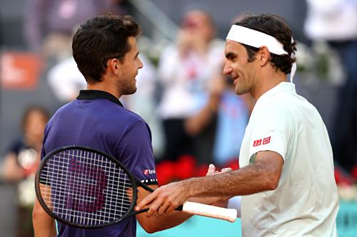 Sau khi đánh bại Nadal ở giải trước, Thiem lại loại một tượng đài khác của làng quần vợt.