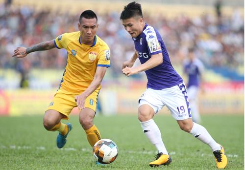 Sau 8 vòng bất bại, Hà Nội phải nhận trận thua đầu tiên ở V-League 2019.