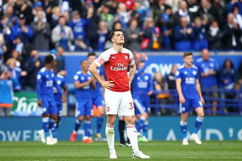 Arsenal đang có phong độ tồi bậc nhất ở Ngoại hạng Anh. Ảnh: AFP.