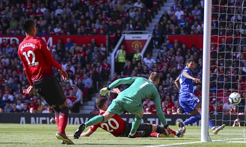 Man Utd nhận trận thua muối mặt ở vòng cuối Ngoại hạng Anh. Ảnh:AFP.
