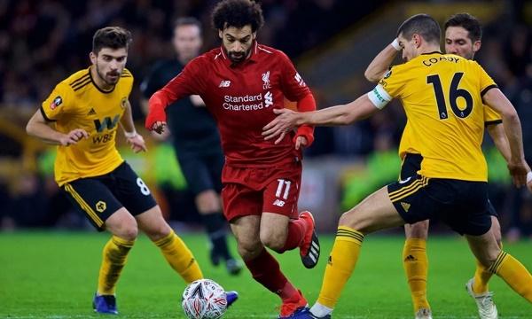 Liverpool từng thắng Wolves ở lượt đi. Ảnh: PA.