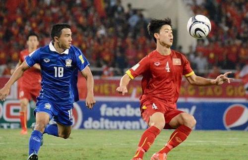 Duy Mạnh từng đối đầu Thái Lan tại SEA Games 2017.
