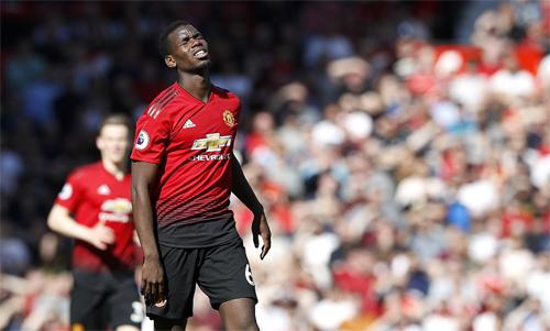 Pogba phải nhận nhiều chỉ trích nhất sau thất bại của Man Utd. Ảnh: Reuters