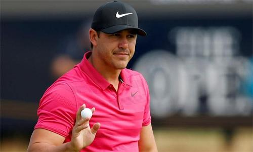 Koepka sẽ đấu cùng nhóm với Tiger Woods và Francesco Molinari tại hai vòng đầu PGA Championship. Ảnh: Reuters.