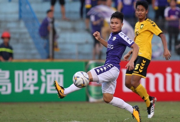 Quang Hải bỏ lỡ hai cơ hội ghi bàn trong hiệp hai. Ảnh: Lâm Thỏa.