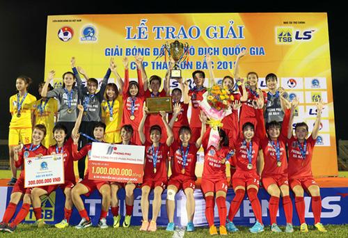Phong Phú Hà Nam là nhà vô địch giải năm 2018.