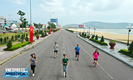 VM Quy Nhơn 2019 mong muốn góp phần cổ vũ phong trào chạy bộ đang lan tỏa trên khắp cả nước. Ảnh: Ngọc Thành.