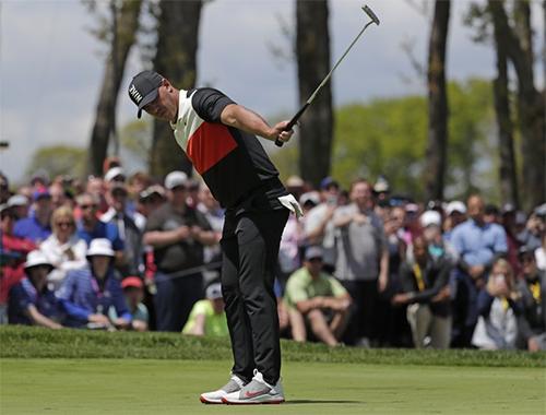 Koepka khởi đầu thuận lợi trong hành trình bảo vệ danh hiệu tại PGA Championship. Ảnh: AP.