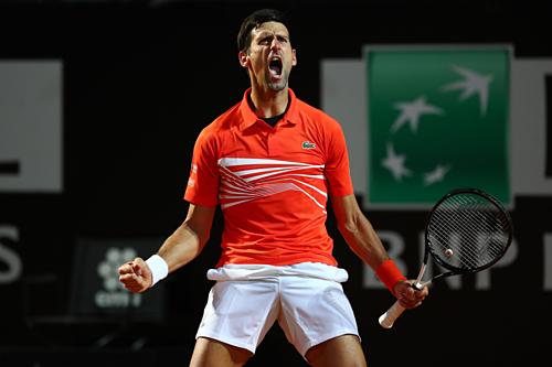 Djokovic thắng ngược Del Potro ở tứ kết Rome Masters 2019 - ảnh 1
