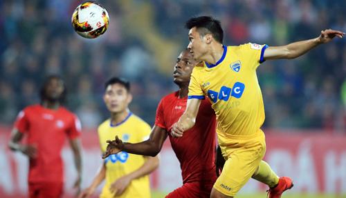 Mùa giải 2018 Thanh Hoá thua 0-2 khi tới làm khách của Hải Phòng dù còn đầy đủ dàn cầu thủ ngôi sao.