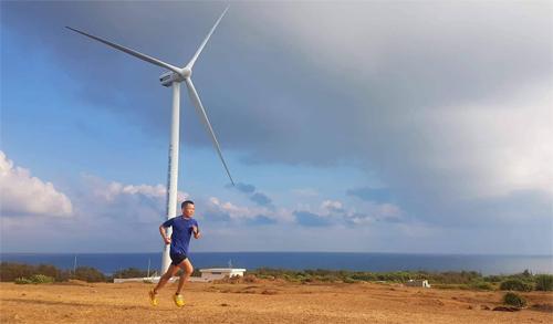 Hùng Hải xem tập heat training là sự chuẩn bị quan trọng cho VnExpress Marathon. Ảnh: NVCC.