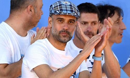 Guardiola đã gặt hái nhiều thành công trong thời gian dẫn dắt Man City. Ảnh: AP.