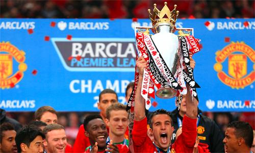 Van Persie là công thần trong mùa giải gần nhất Man UTd vô địch Ngoại hạng Anh - 2012-2013.