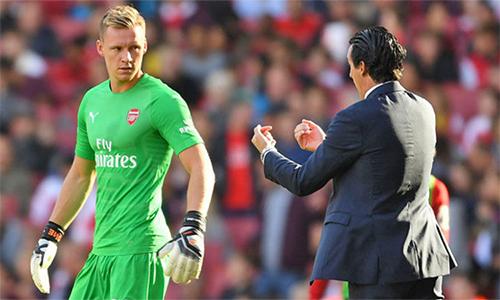 Leno đang nhận được sự ủng hộ lớn từ công chúng yêu Arsenal.