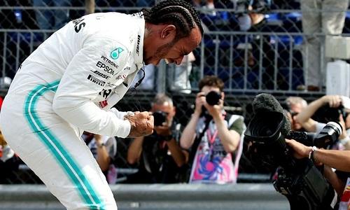 Hamilton có lợi thế để một lần nữa chiến thắng tại GP Monaco. Ảnh: AP.
