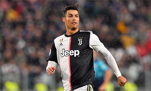 Ronaldo chỉ đá 31 trận tại Serie A mùa này.