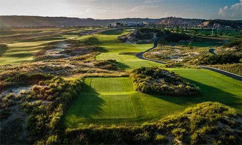 Sân KN Golf Links, nơi đăng cai VAO, VLAO và VJO, mới đi vào hoạt động từ cuối tháng 10 năm ngoái.