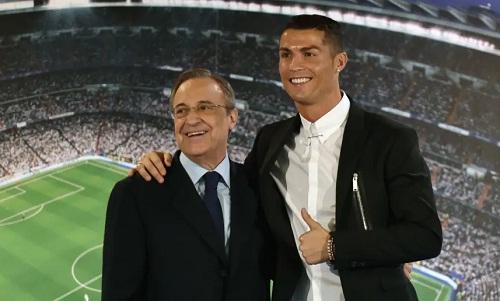Perez nói rằng ông luôn có mối quan hệ tốt với Ronaldo. Ảnh: Marca.