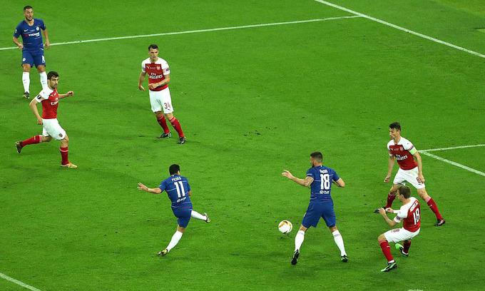15 phút bùng nổ giúp Chelsea vô địch Europa League