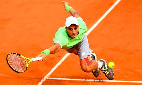 Antoine Hoang gây tiếng vang lớn trong lần đầu dự vòng đấu chính Grand Slam.