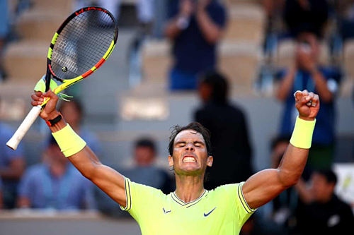 Nadal lần đầuthua set ở Roland Garros năm nay.