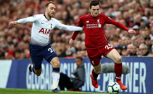 Tottenham và Liverpool từng nhiều lần chạm trán và hiểu rõ nhau. Ảnh: AFP.