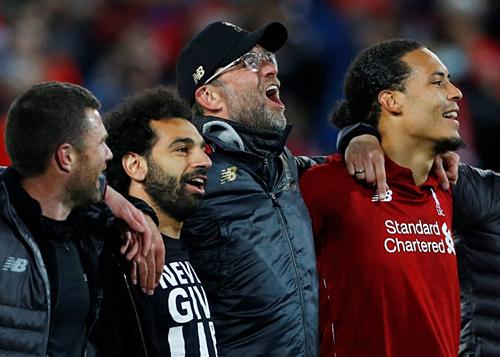 Klopp tự tin với đội hình Liverpool có cả chất lượng và kinh nghiệm. Ảnh: AFP.
