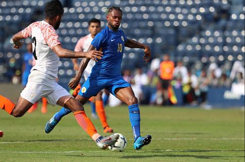 Curacao vào chung kết King's Cup