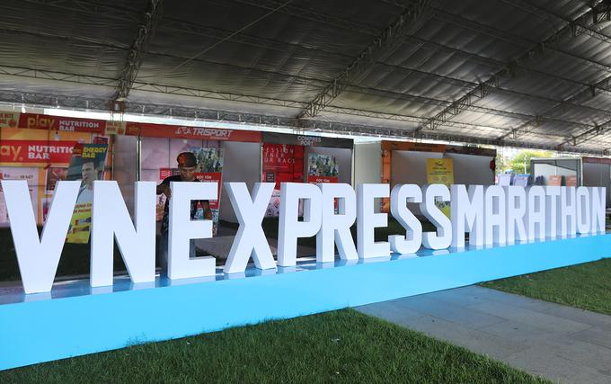 Những bước chuẩn bị cuối cùng của VnExpress Marathon