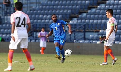 Cuco Martina trong trận đấu với Ấn Độ. Ảnh: Đức Đồng.