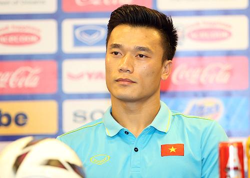 Bùi Tiến Dũng được đồng đội bầu làm đội trưởng U23 Việt Nam.